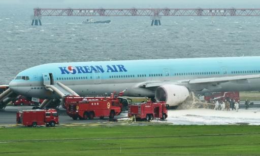 Korean Air passengers recall near-disaster at Tokyo airport