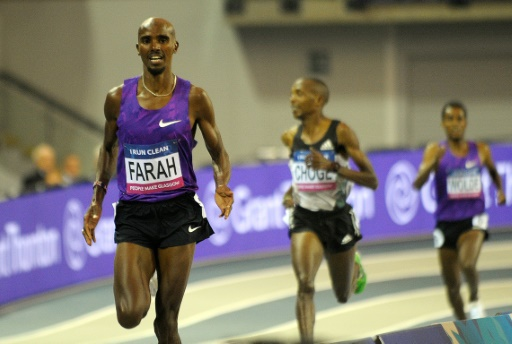 Farah finishes strong to win Prefontaine 10,000m