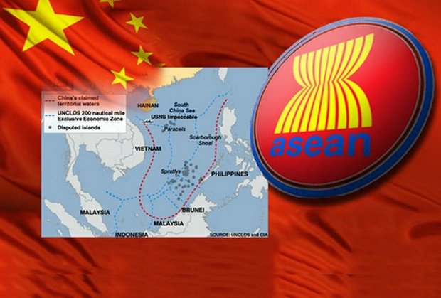 China calls for naval exercise with Asean