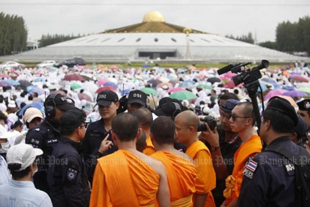 Dsi Executes Search Warrant At Wat Phra Dhammakaya Bangkok Post News