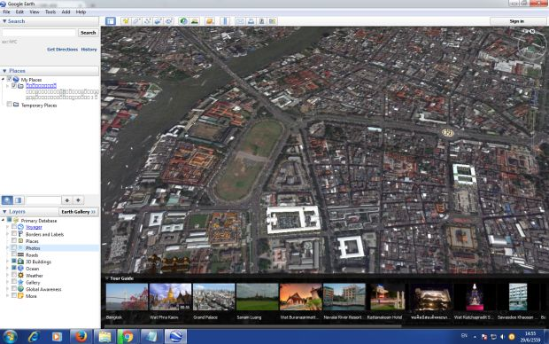 Google Earth Clearer Sharper With New Satellite Images Bangkok - Google earth satellite map