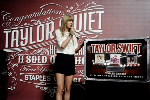 Chinese 'gamble' on Taylor Swift's love life