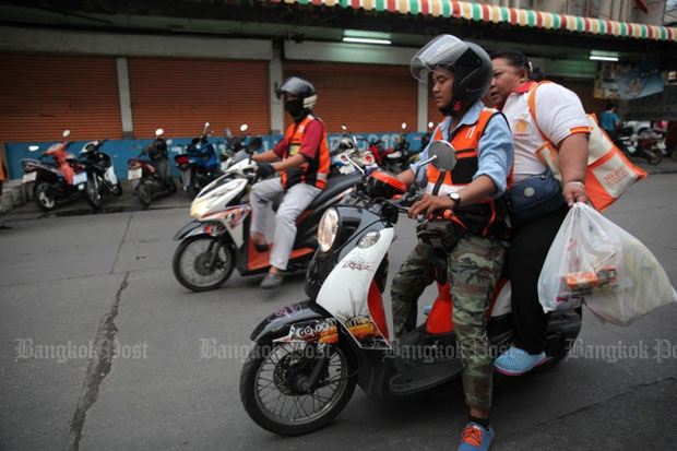 New legal motorcycle app launched in Bangkok