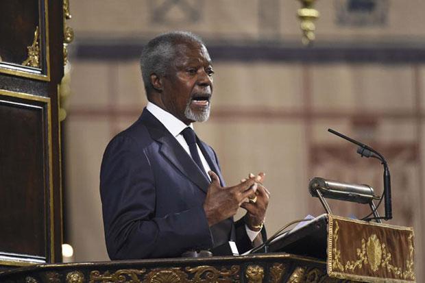 Kofi Annan named to lead commission on Rohingya issue