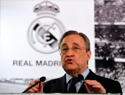 "Real Madrid squad ""impossible"" to improve: Florentino Perez 