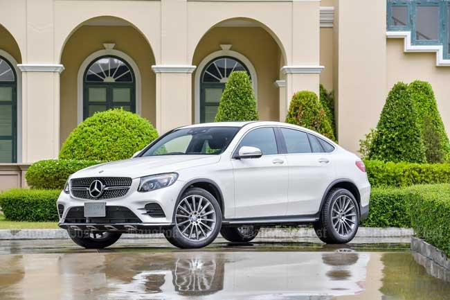 Mercedes-Benz GLC250d Coupe: Thai pricing and specs