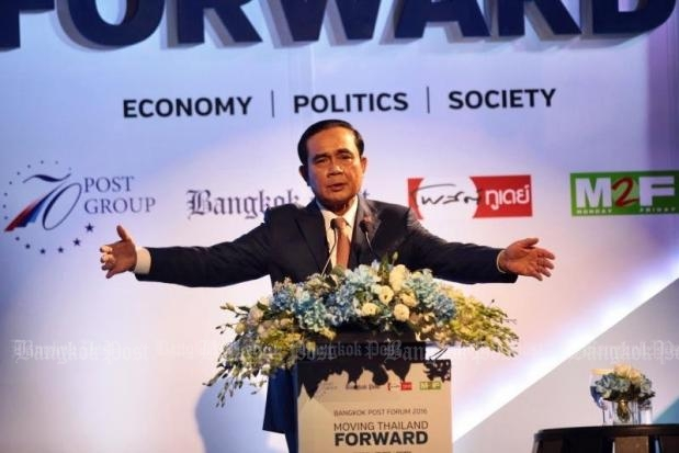 Bangkok Post Forum: Developed country by 2036, says PM