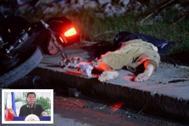 Duterte happy to kill drug users like Hitler killed Jews