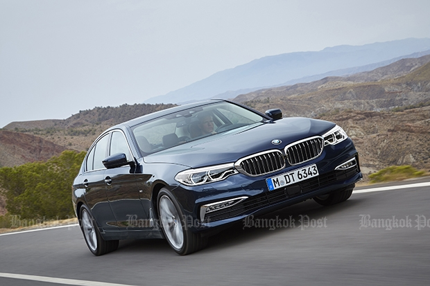 New BMW 5-series breaks cover