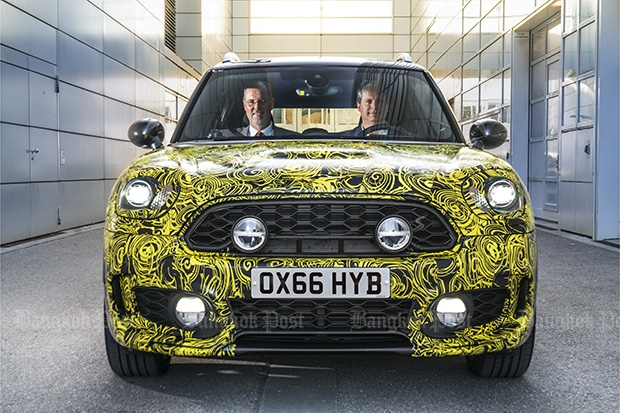 Mini previews first-ever plug-in hybrid