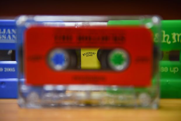 Cassette tapes fast-forward to new following