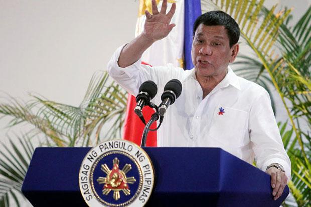 Philippine leader Duterte says he wants foreign troops out