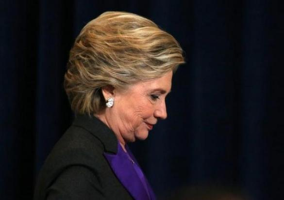 Hillary Clinton Blames FBI For Election Loss