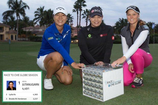 Lydia Ko shots 10-under 62, leads LPGA Tour finale
