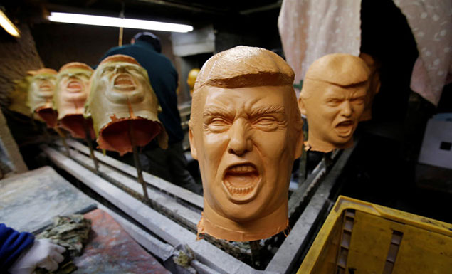 Trump presidency boosts Japan mask maker