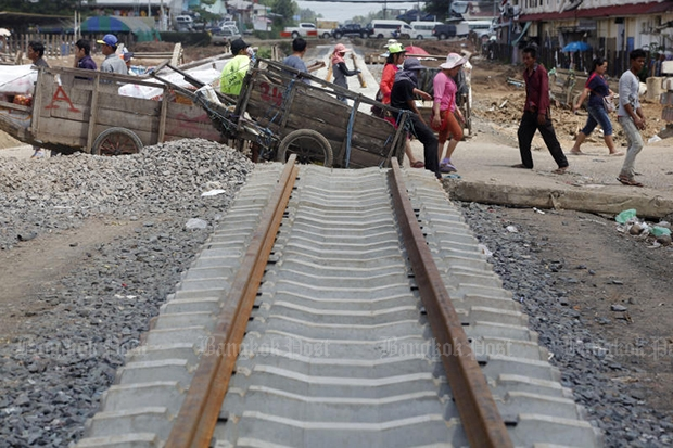 Cambodia: Rail link to Thailand on schedule