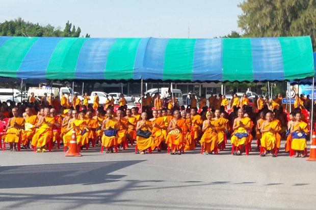 Road Alongside Wat Phra Dhammakaya Blocked Bangkok Post News