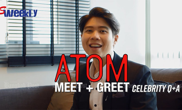 Celebrity Q+A: Atom makes another hit