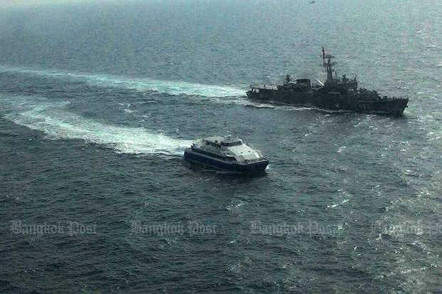 learning advanced naval warship protect pattaya ferry