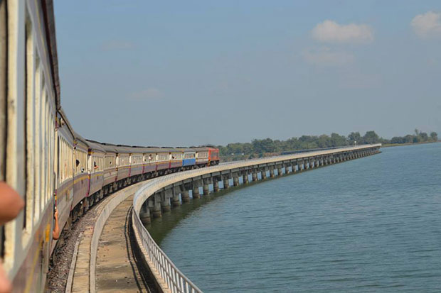 Special holiday train trips to Pa Sak Jolasid Dam