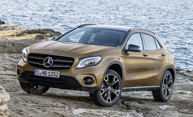 Mercedes-Benz facelifts the GLA for 2017