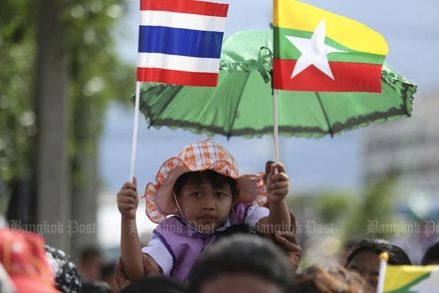 Delegation visits Myanmar | Bangkok Post: news