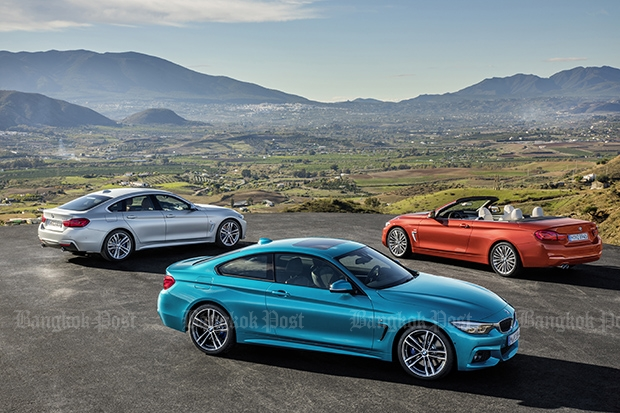 2017 BMW 4-series facelift announced