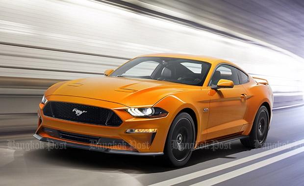 Ford updates Mustang for 2018 | Bangkok Post: auto