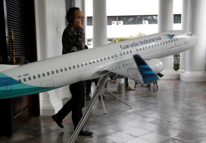 Indonesia names ex-Garuda CEO as suspect in corruption case