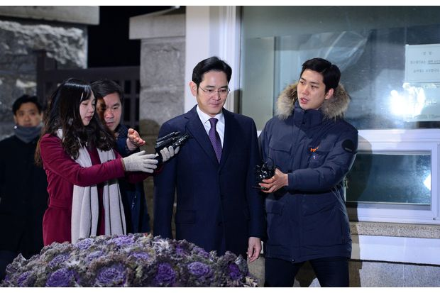 Court rejects arrest of Samsung heir