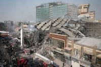 Collapse of Tehran high-rise kills 30 firefighters