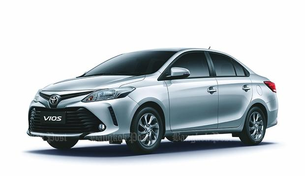 2017 Toyota Vios facelift introduced in Thailand
