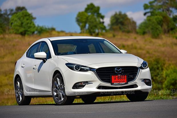 2017 Mazda 3 facelift review