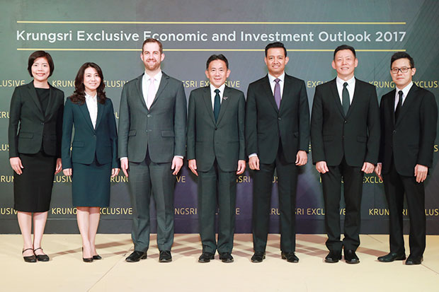 Krungsri holds Economic and Investment Outlook 2017 seminar