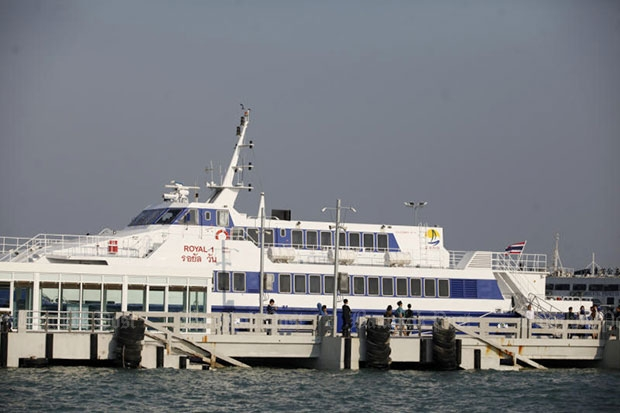 Official launch of Pattaya-Hua Hin ferry service