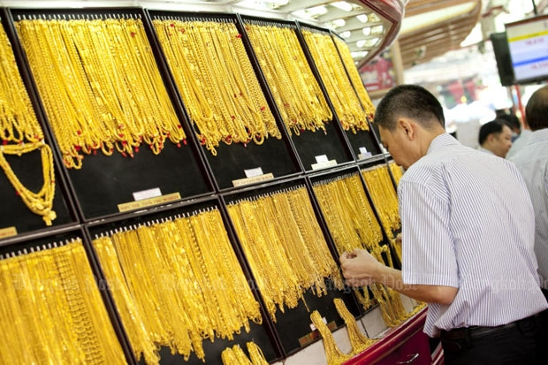 Gold prices fell B50 to B20,400
