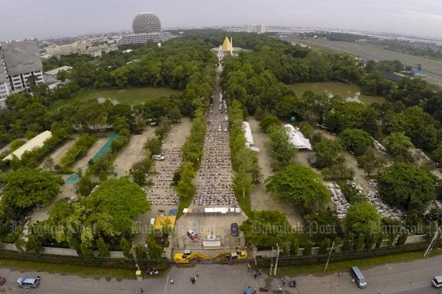 Wat Phra Dhammakaya Partly On Public Land Bangkok Post News