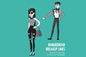 Bangkokian breakup lines