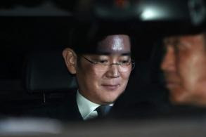Samsung heir Jay Y Lee arrested for bribery