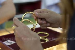Gold prices down B50 to B20,500