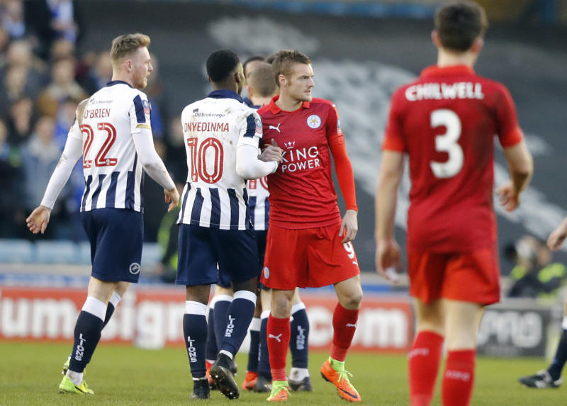 FA Cup shocks as Lincoln in, Leicester out