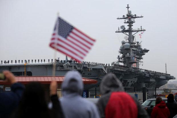 US carrier group patrols in tense South China Sea | Bangkok Post: news