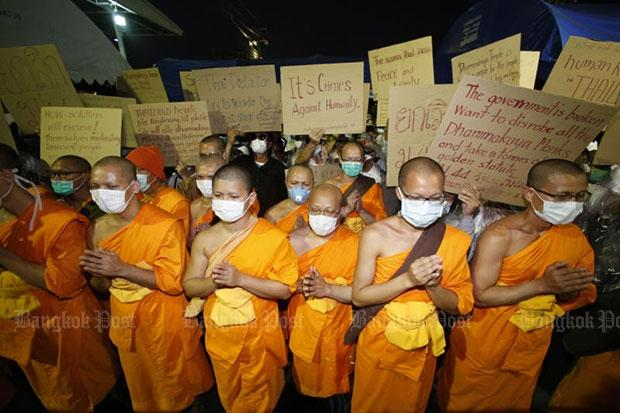 "Monk: ""Dhammajayo fled on Day 1"" | Bangkok Post: news"