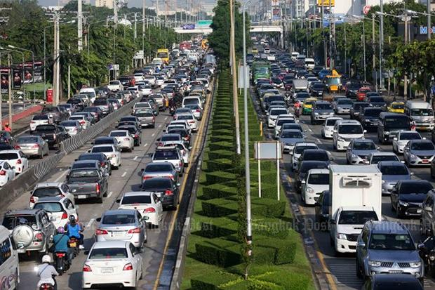 Bangkok's roads rated among world's most congested | Bangkok Post: news