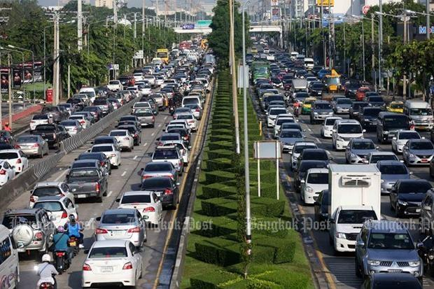 Bangkok Traffic Jams Among World S Worst Bangkok Post