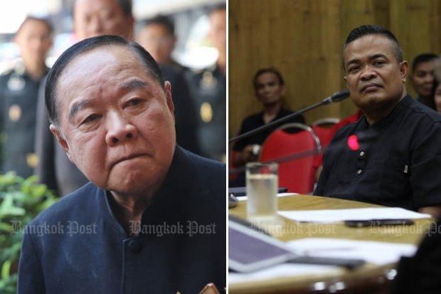 Prawit warns Jatuporn to hold fire