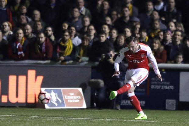 Arsenal end Sutton's dream run