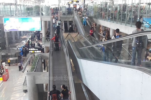 Suvarnabhumi to step up safety after trolley pileup