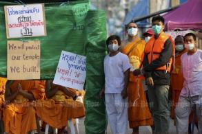 Sangha backs fresh temple search