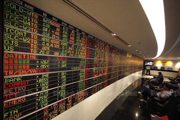SET rises 3.28 to 1,567.70 at midday